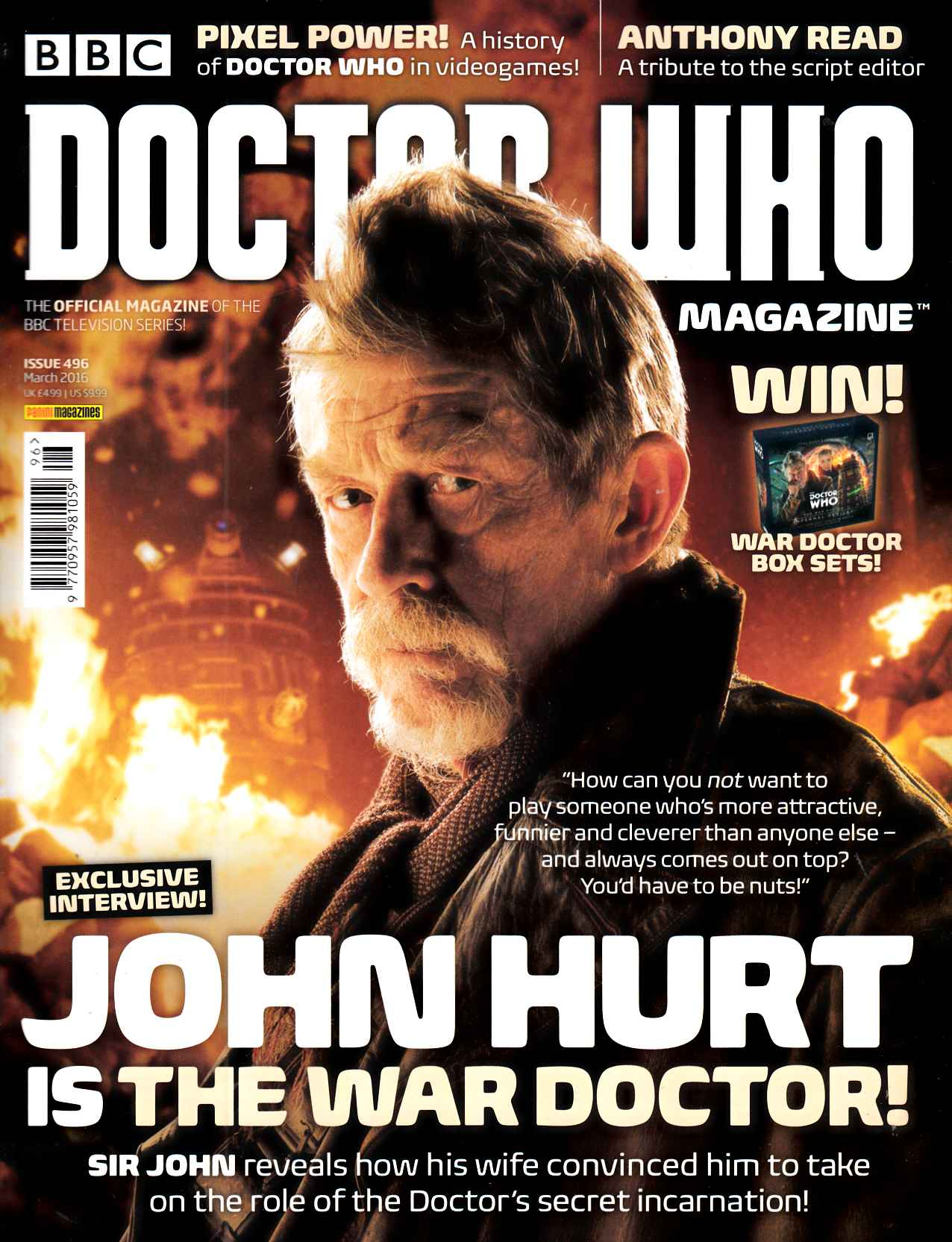 Doctor Who Magazine #496 [Panini Magazine] LARGE