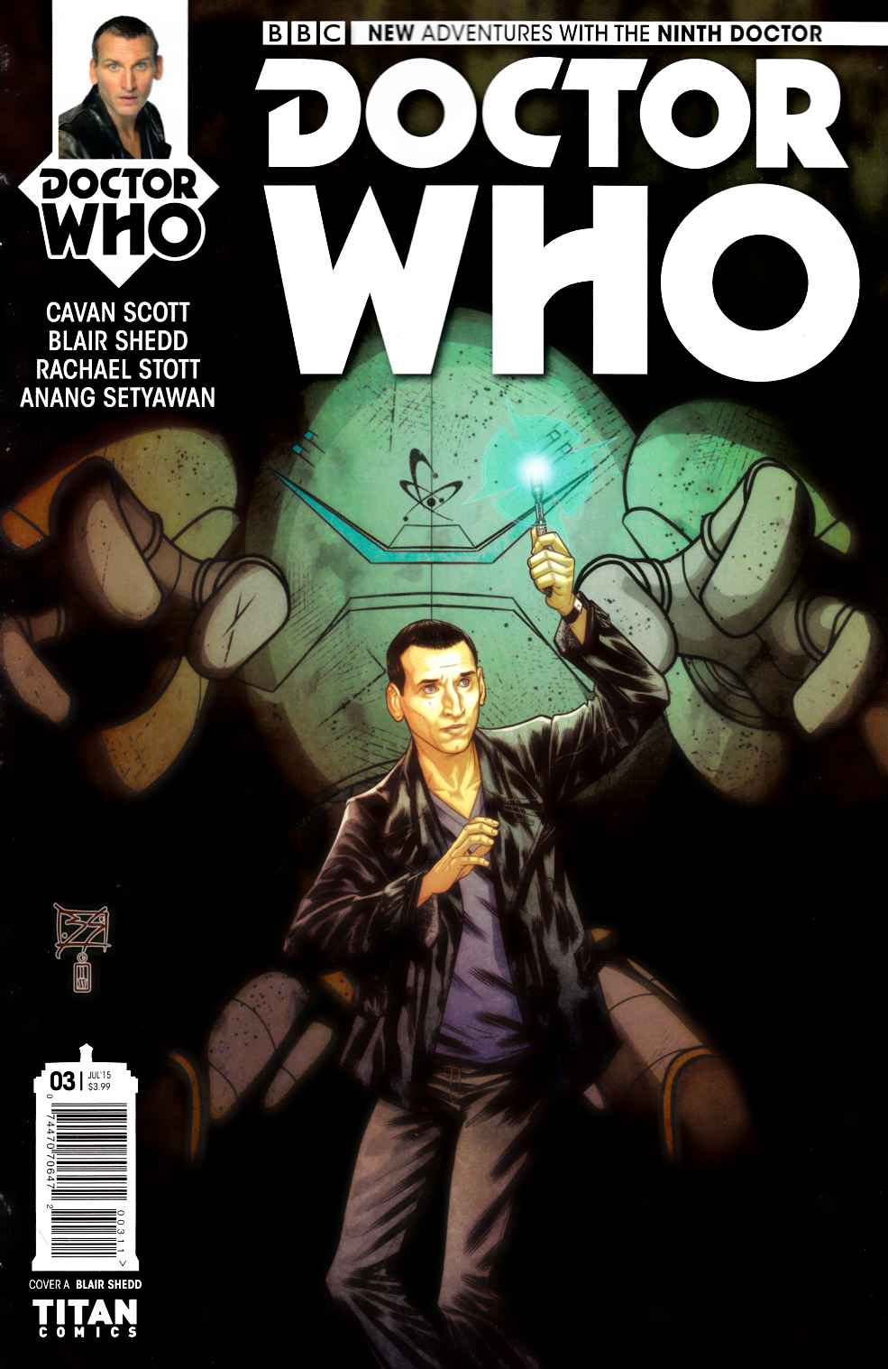 Doctor Who 9th Doctor #3 [Titan Comic] THUMBNAIL