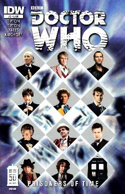 Doctor Who Prisoners of Time #12 Cover RI [Comic] LARGE