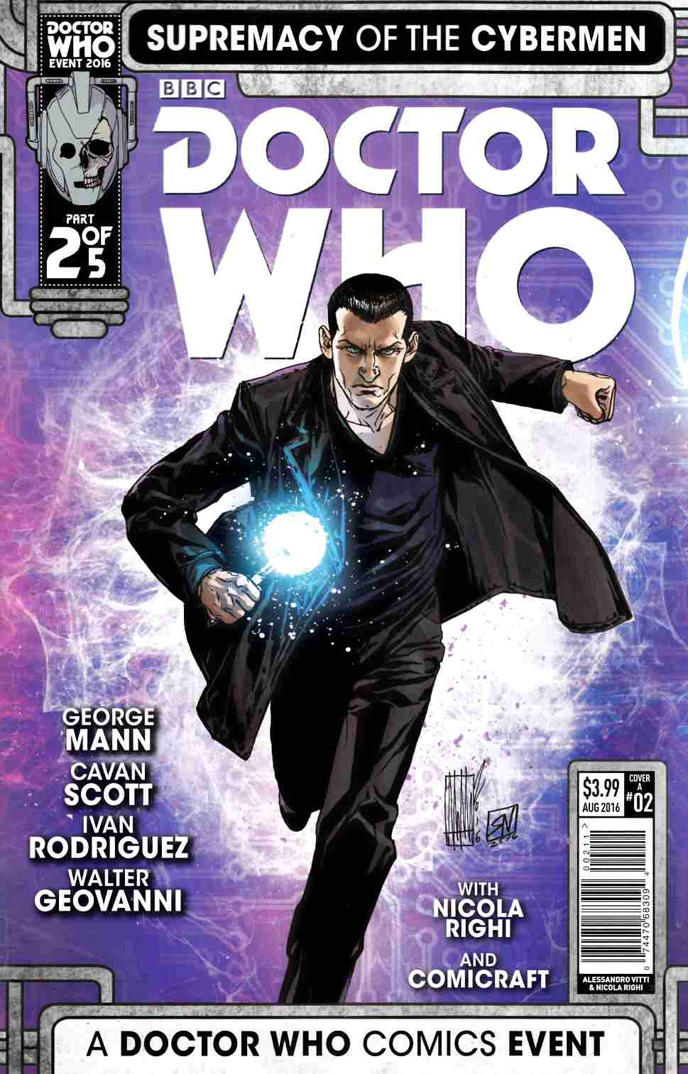 Doctor Who Supremacy of the Cybermen #2 Cover A [Titan Comic] THUMBNAIL