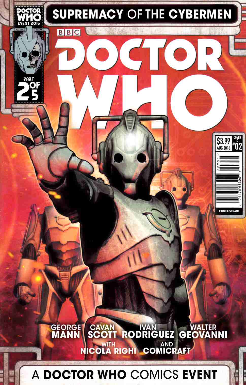 Doctor Who Supremacy of the Cybermen #2 Cover C [Titan Comic] THUMBNAIL