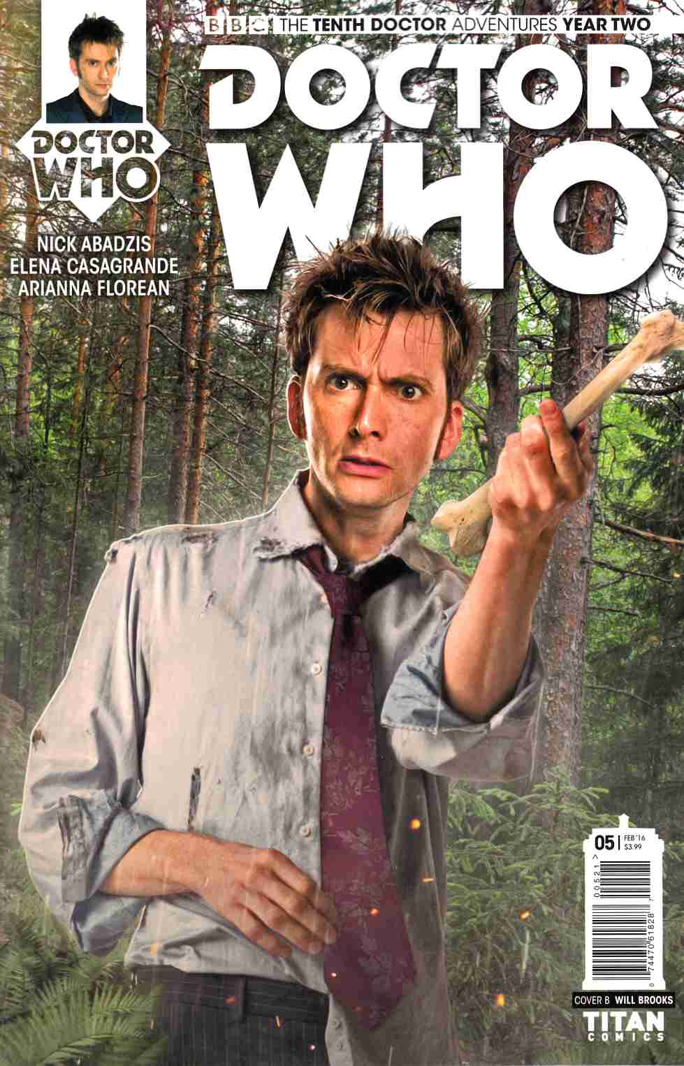 Doctor Who 10th Doctor Year 2 #5 Brooks Subscription Photo Cover [Titan Comic]_THUMBNAIL