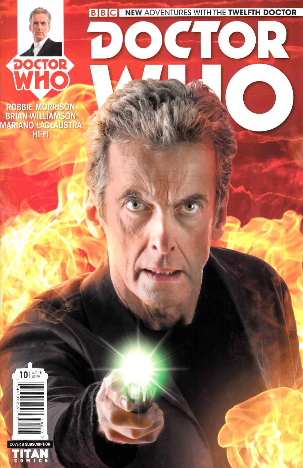 Doctor Who 12th Doctor #10 Subscription Cover [Titan Comic] THUMBNAIL