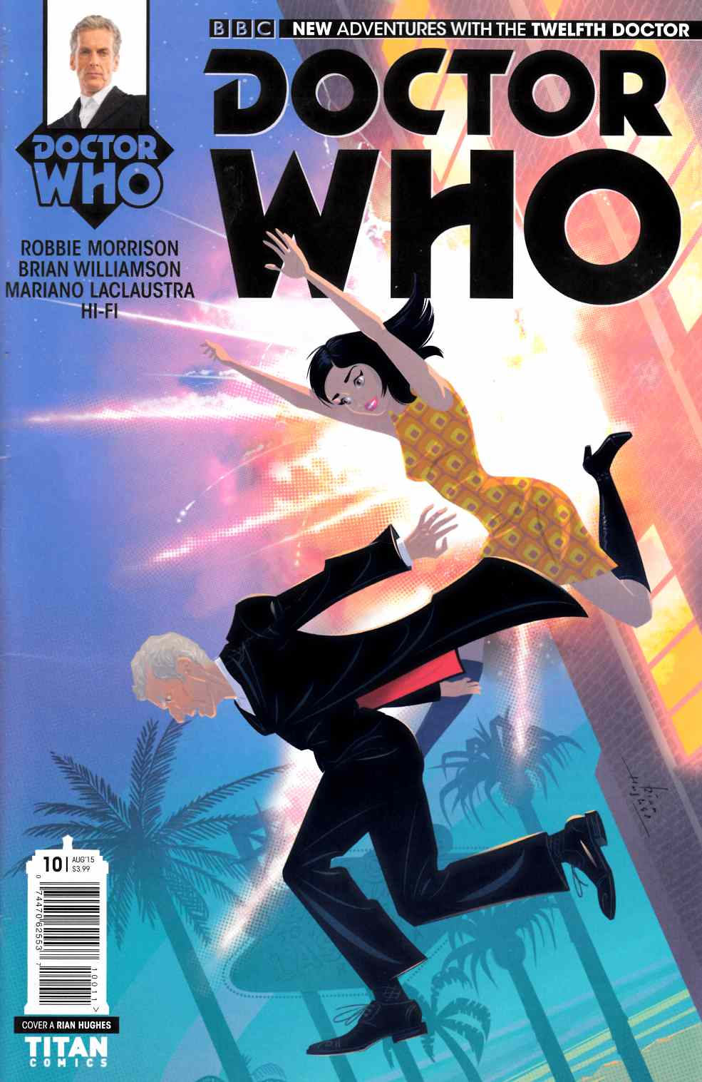 Doctor Who 12th Doctor #10 [Titan Comic] THUMBNAIL