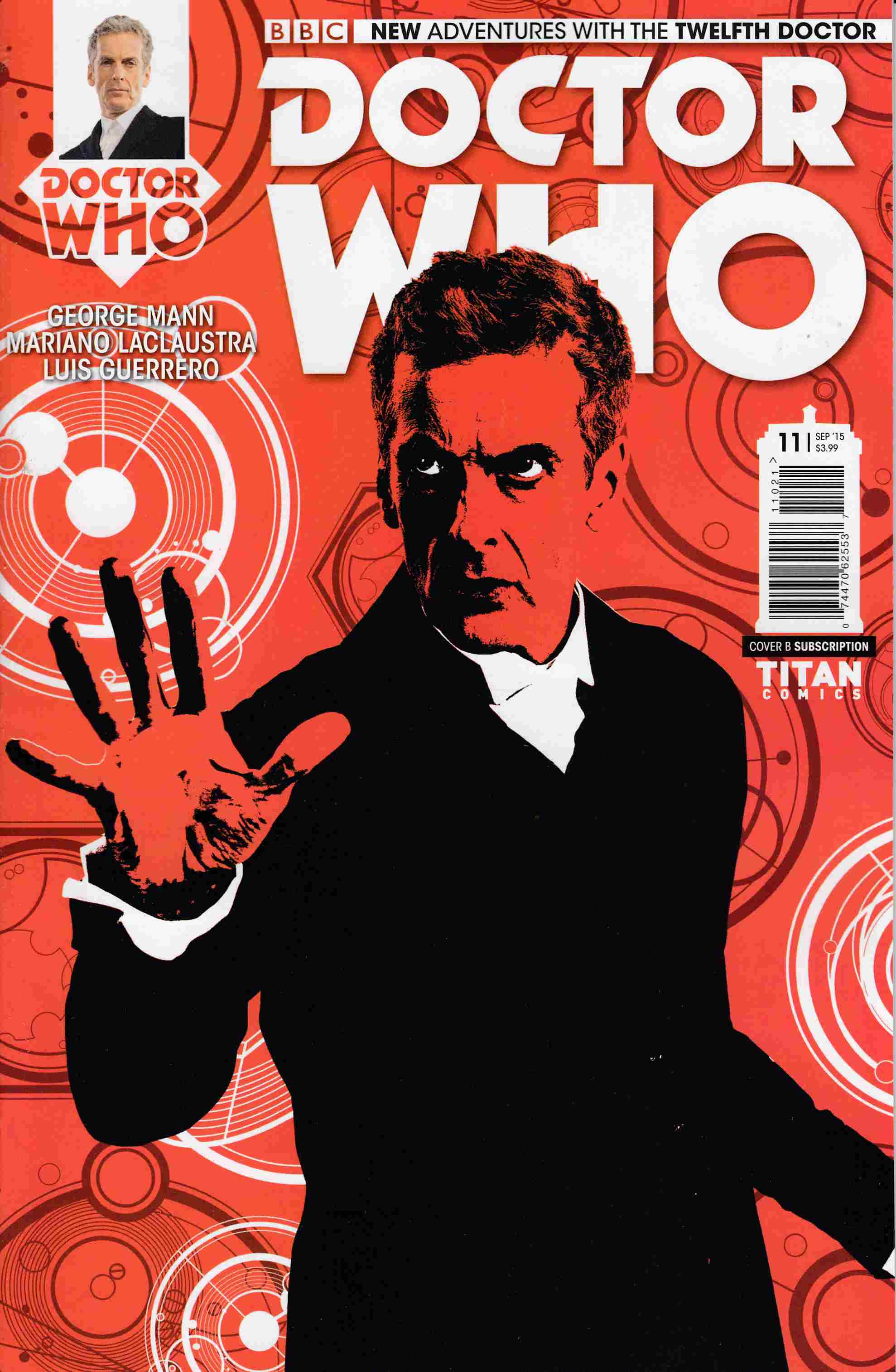Doctor Who 12th Doctor #11 Subscription Photo Cover [Titan Comic] THUMBNAIL