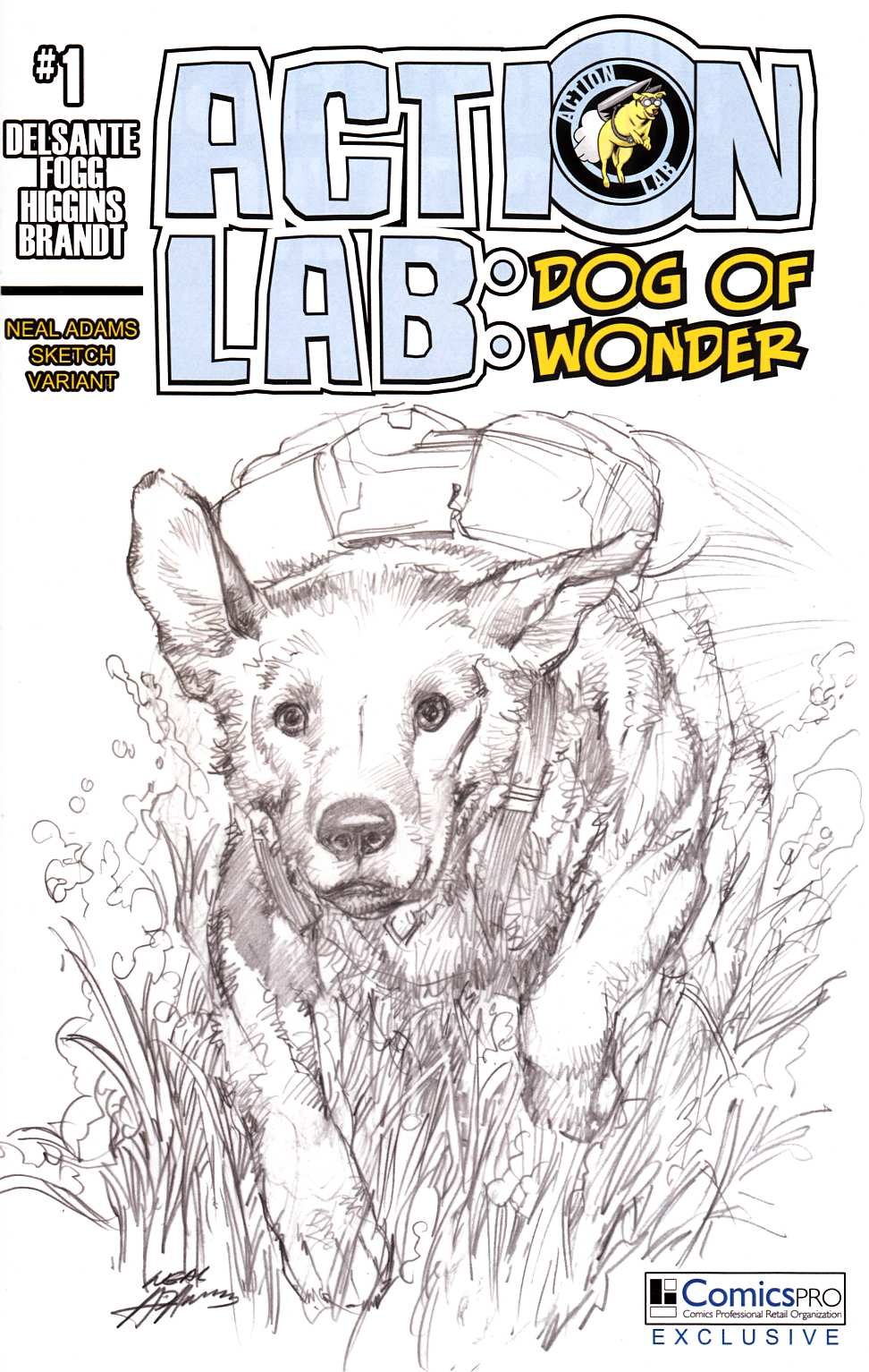 Action Lab Dog of Wonder #1 Cover E- ComicsPro Exclsuive [Action Lab Comic] THUMBNAIL