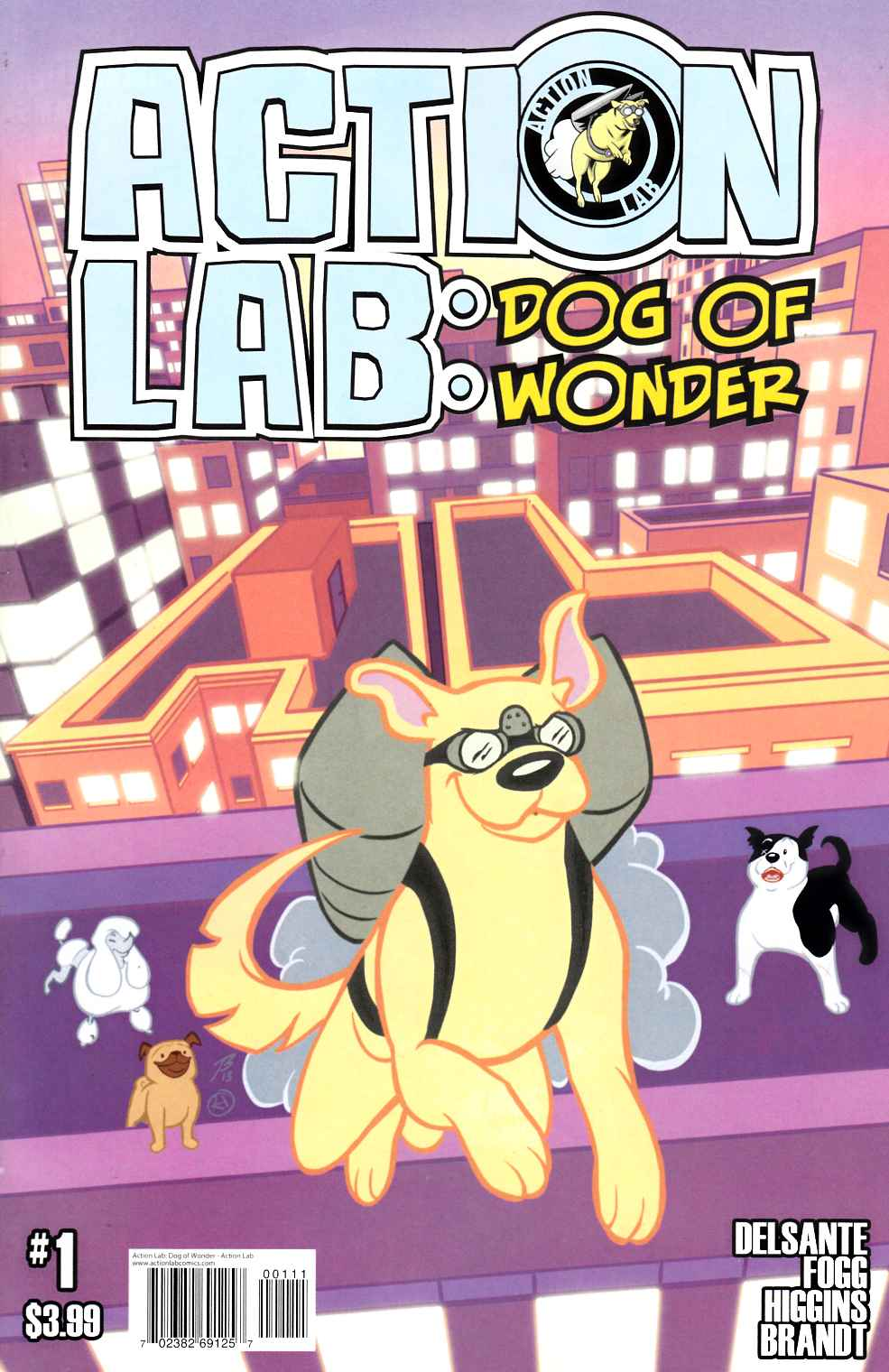 Action Lab Dog of Wonder #1 Cover A- Higgins & Brandt [Action Lab Comic] THUMBNAIL