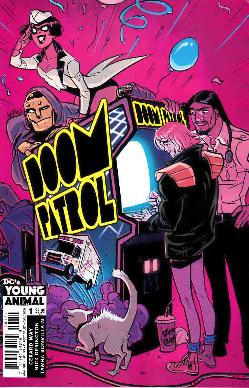 Doom Patrol #1 Tarr Variant Cover [DC Comic] LARGE