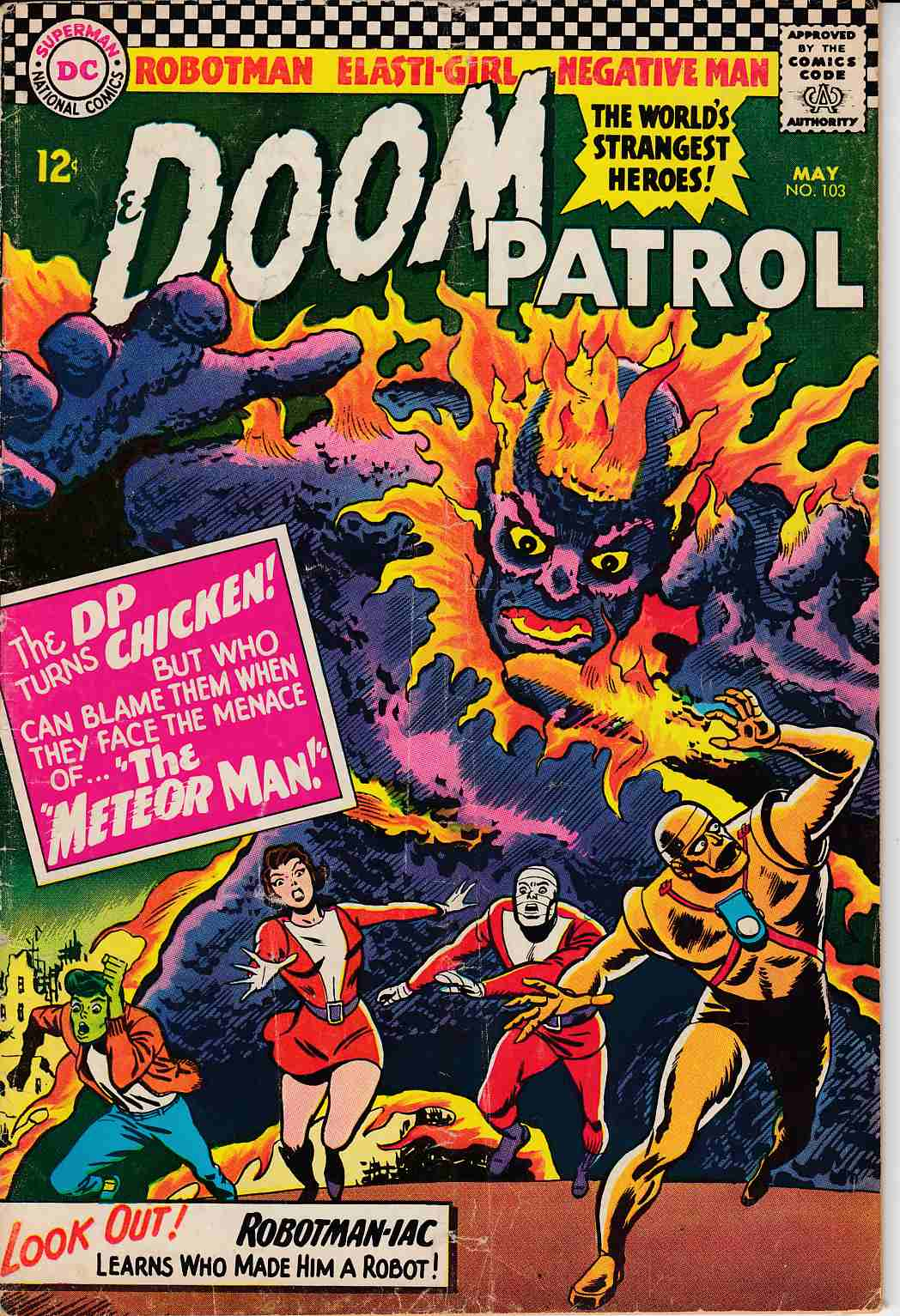 Doom Patrol #103 Good (2.0) [DC Comic] THUMBNAIL