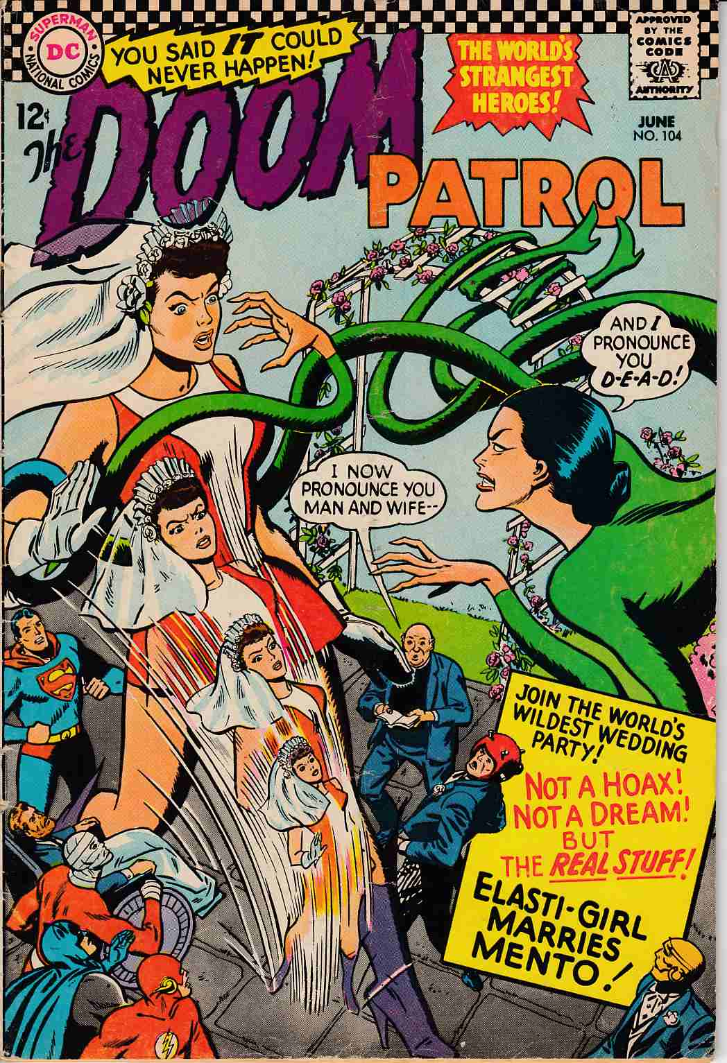 Doom Patrol #104 Very Good Minus (3.5) [DC Comic] THUMBNAIL