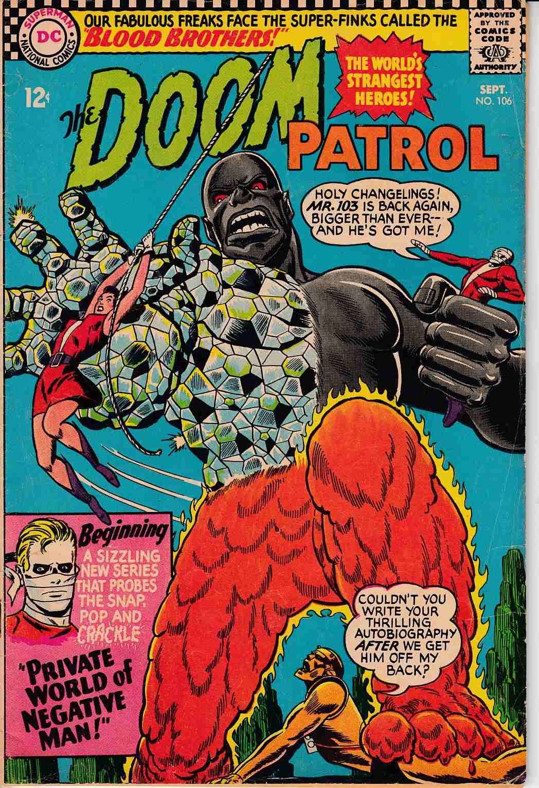 Doom Patrol #106 Very Good Plus (4.5) [DC Comic] THUMBNAIL