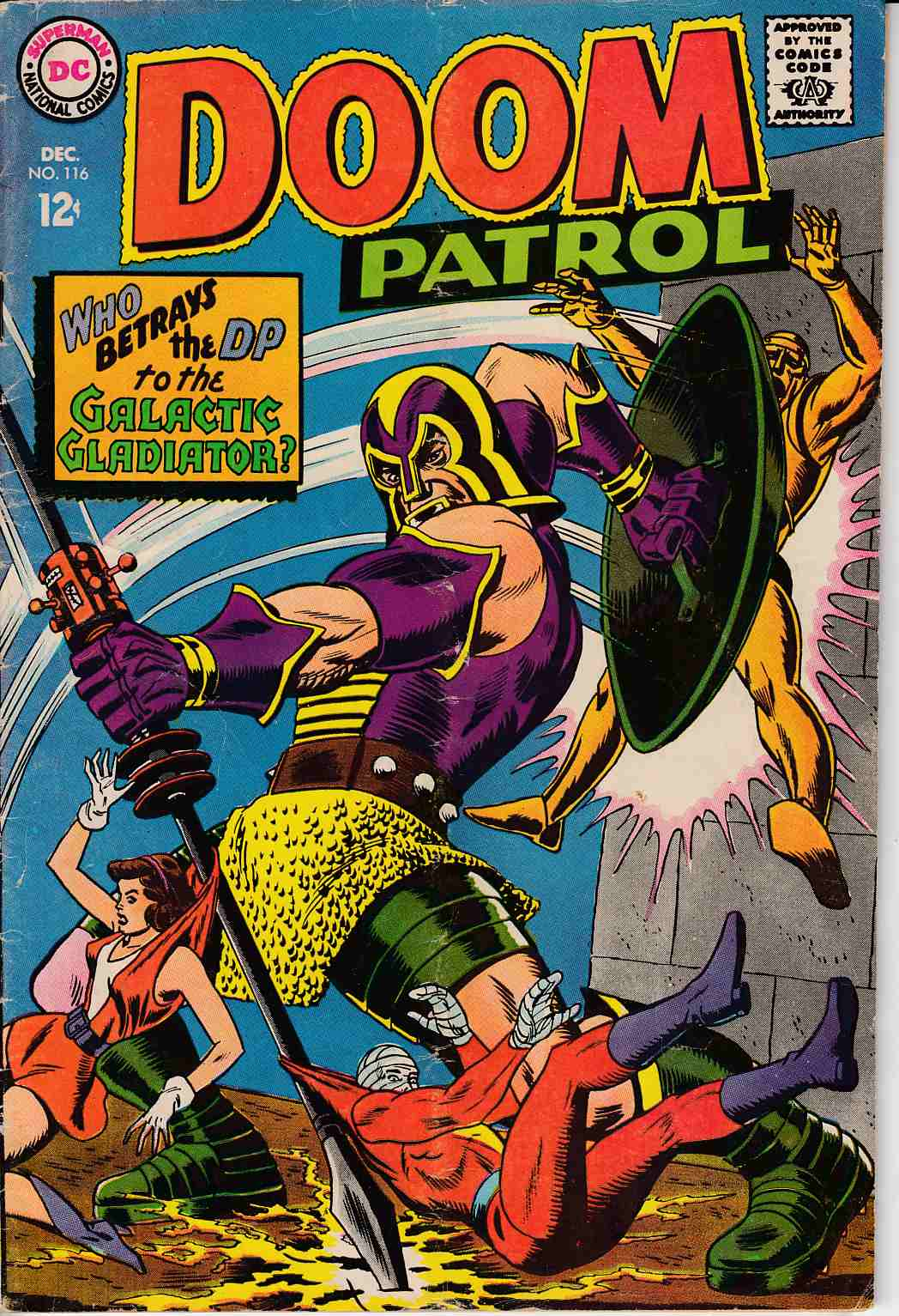 Doom Patrol #115 Very Good (4.0) [DC Comic] THUMBNAIL