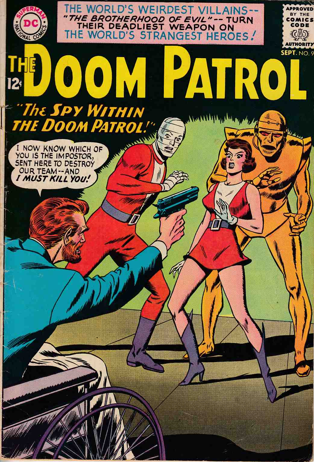 Doom Patrol #90 Very Good/Fine (5.0) [DC Comic] THUMBNAIL
