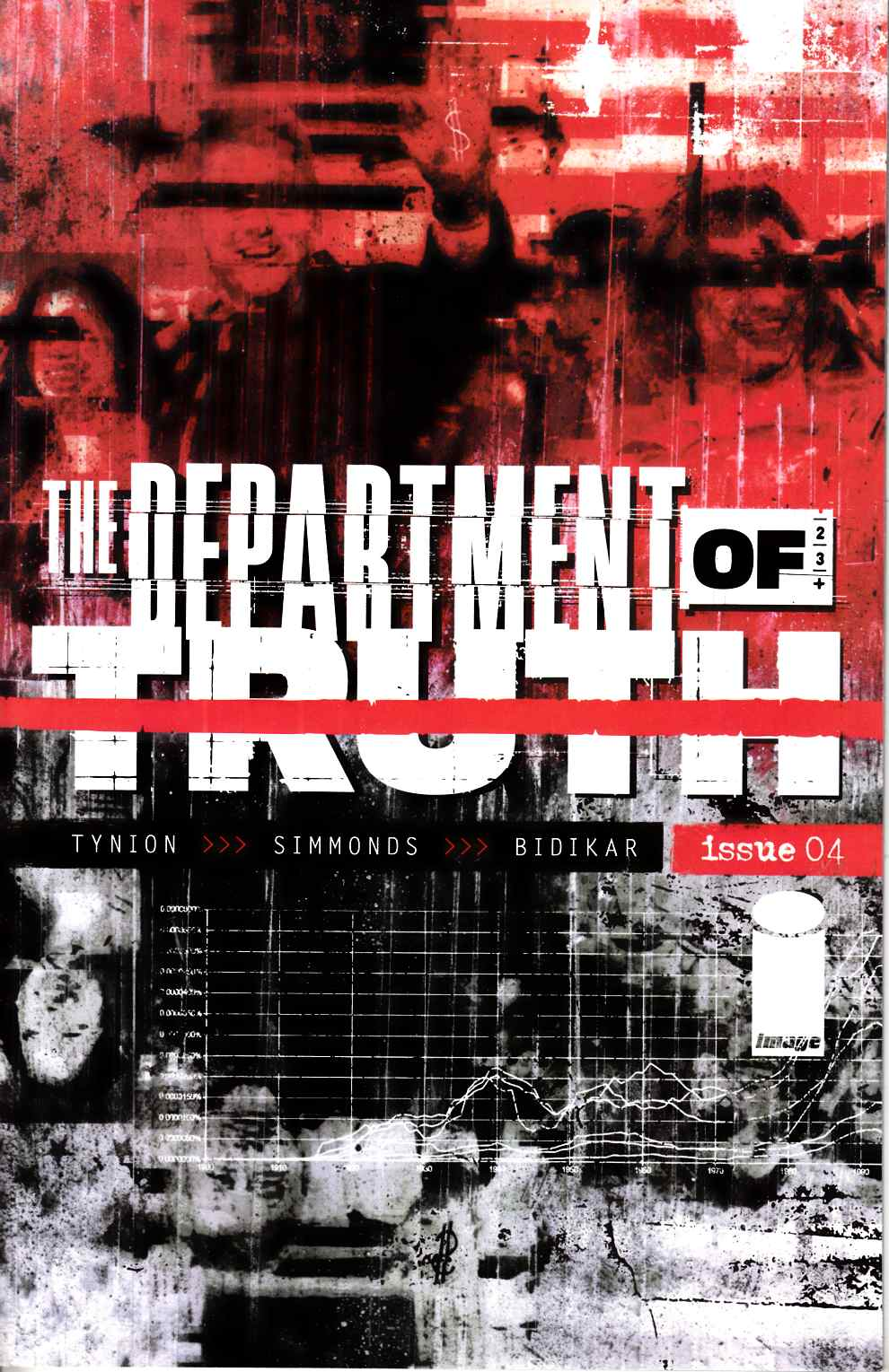Department of Truth #4 Near Mint (9.4) [Image Comic] THUMBNAIL