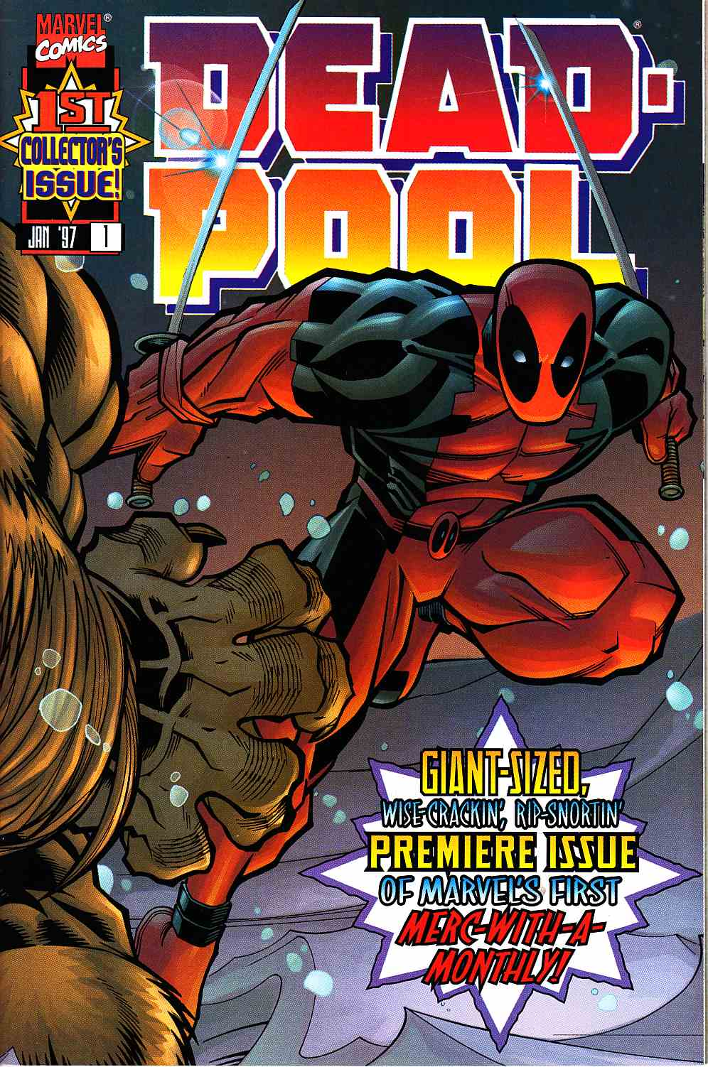 Deadpool #1 Near Mint Plus (9.6) [Marvel Comic] THUMBNAIL