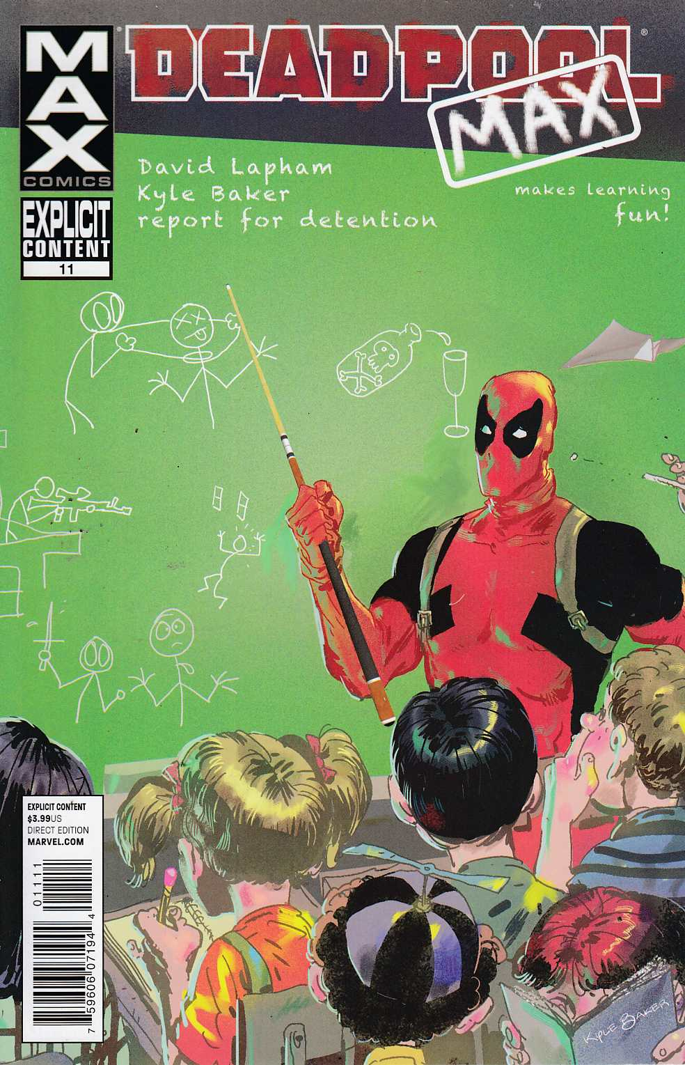 Deadpool Max #11 Near Mint (9.4) [Marvel Comic] THUMBNAIL