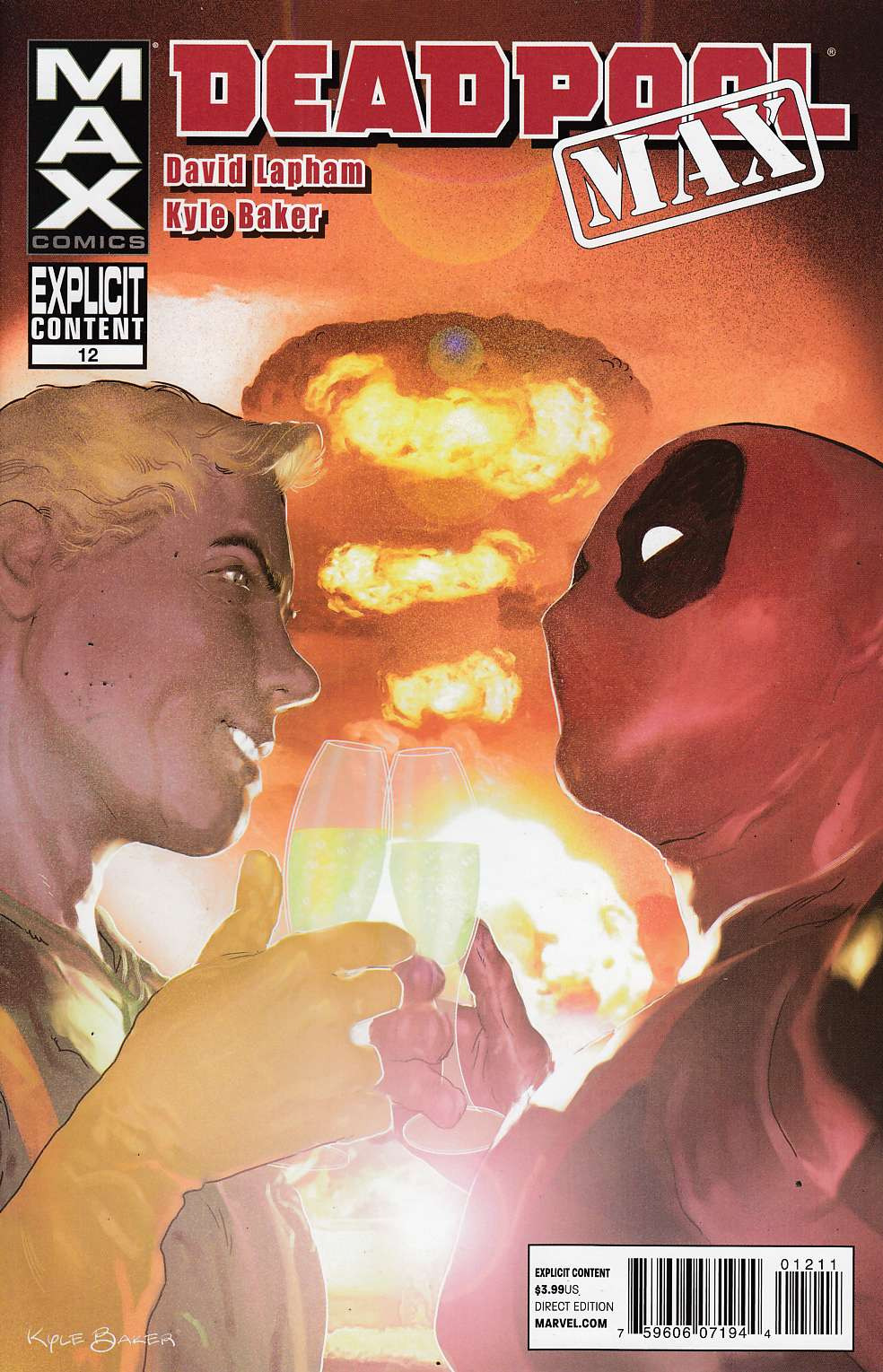 Deadpool Max #12 Near Mint (9.4) [Comic] THUMBNAIL