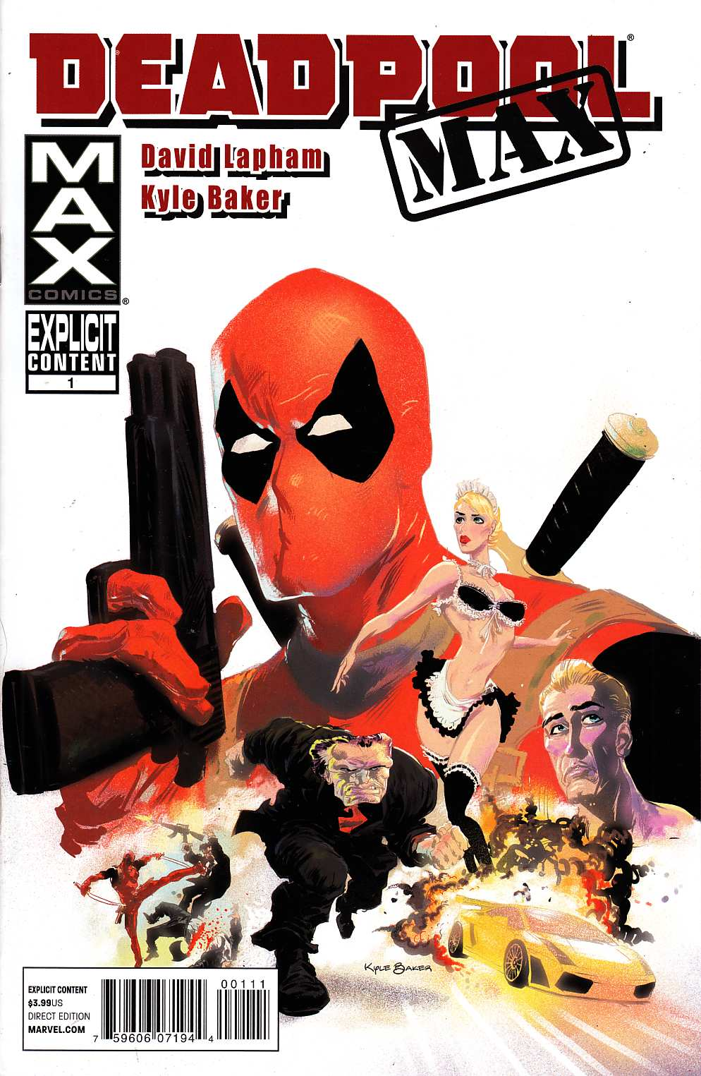 Deadpool Max #1 Near Mint (9.4) [Marvel Comic] THUMBNAIL