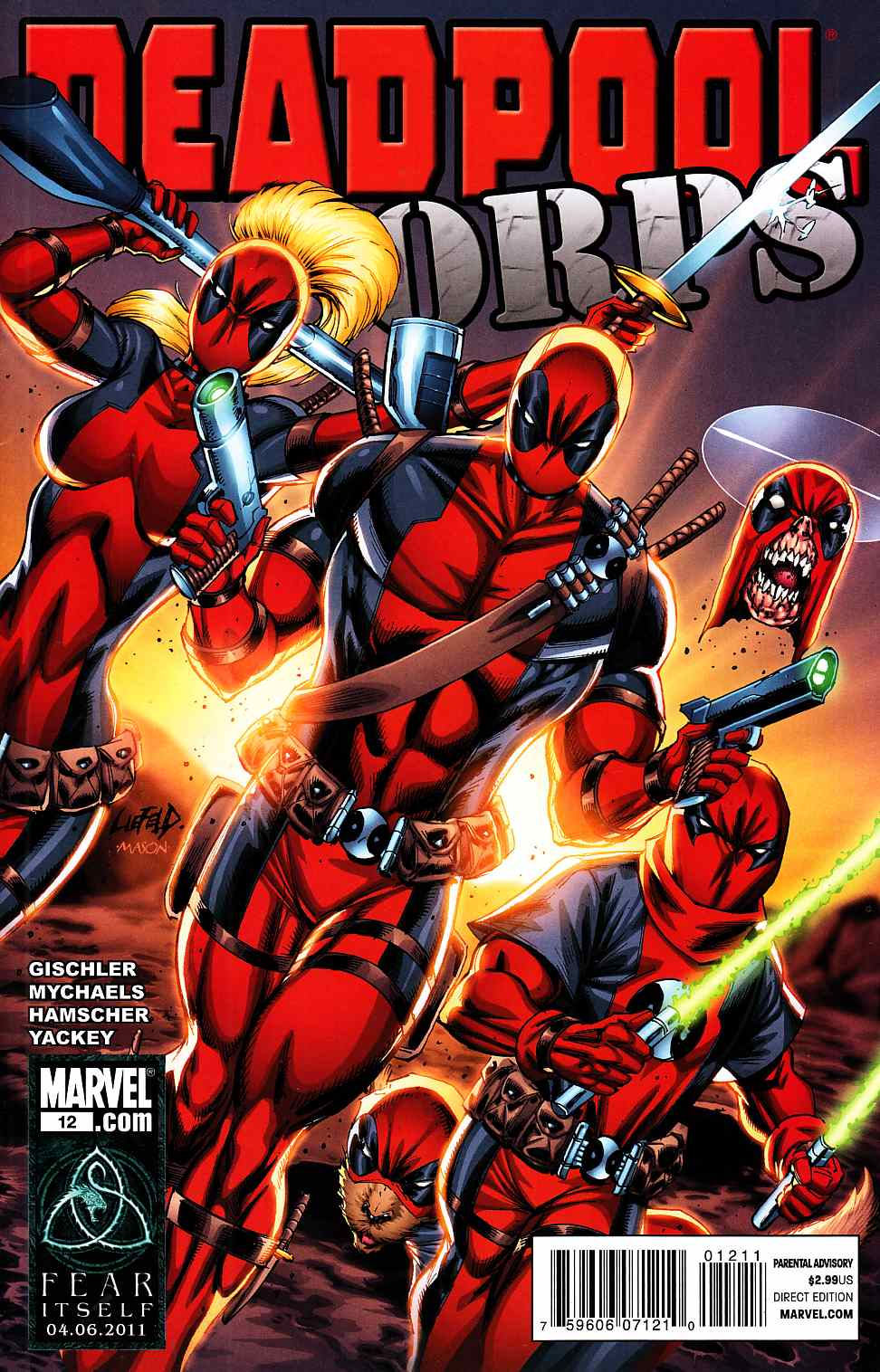 Deadpool Corps #12 [Marvel Comic] THUMBNAIL