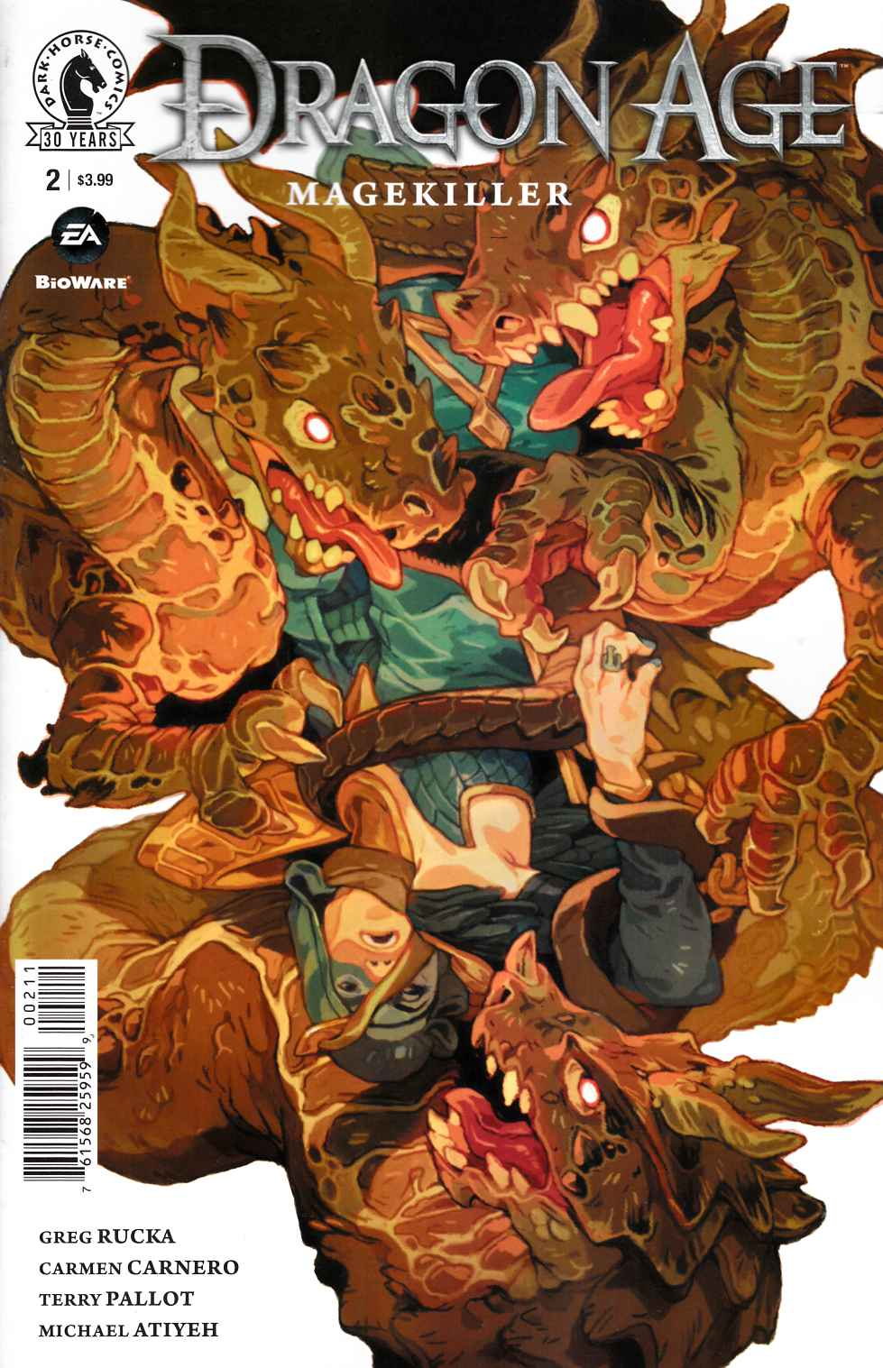 Dragon Age Magekiller #2 [Dark Horse Comic]
