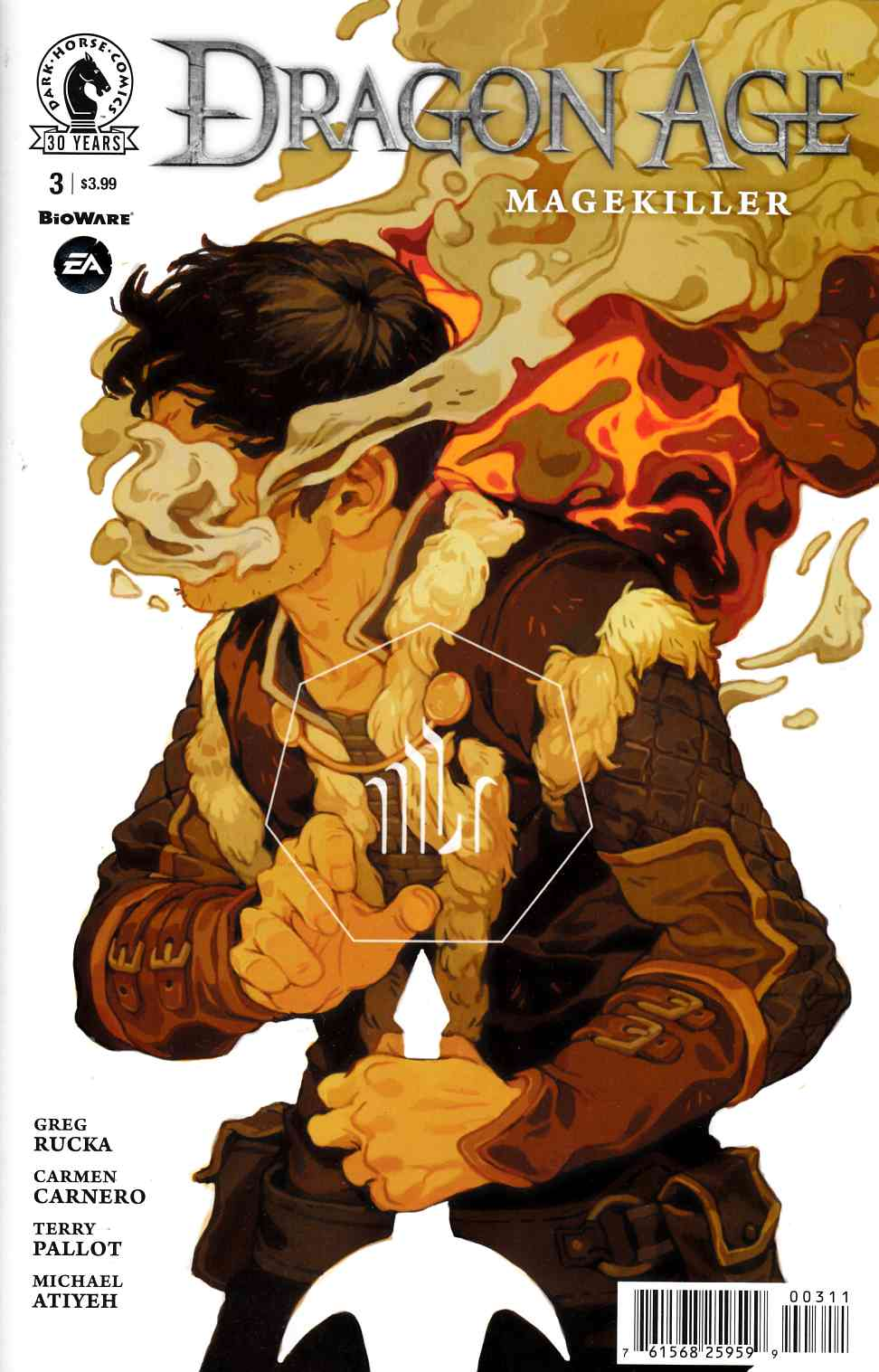 Dragon Age Magekiller #3 [Dark Horse Comic]