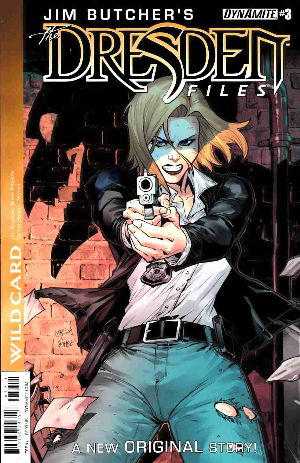 Jim Butcher Dresden Files Wild Card #3 [Dynamite Comic]