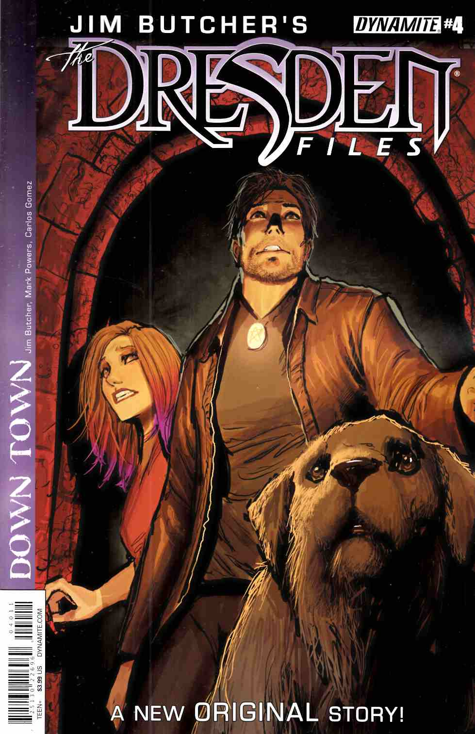 Jim Butcher Dresden Files Down Town #4 [Dynamite Comic]