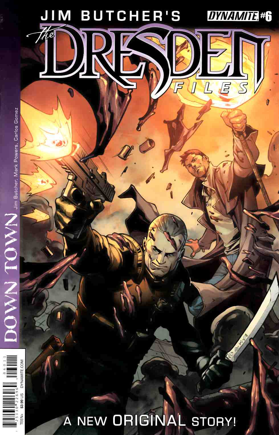 Jim Butcher Dresden Files Down Town #6 [Dynamite Comic]