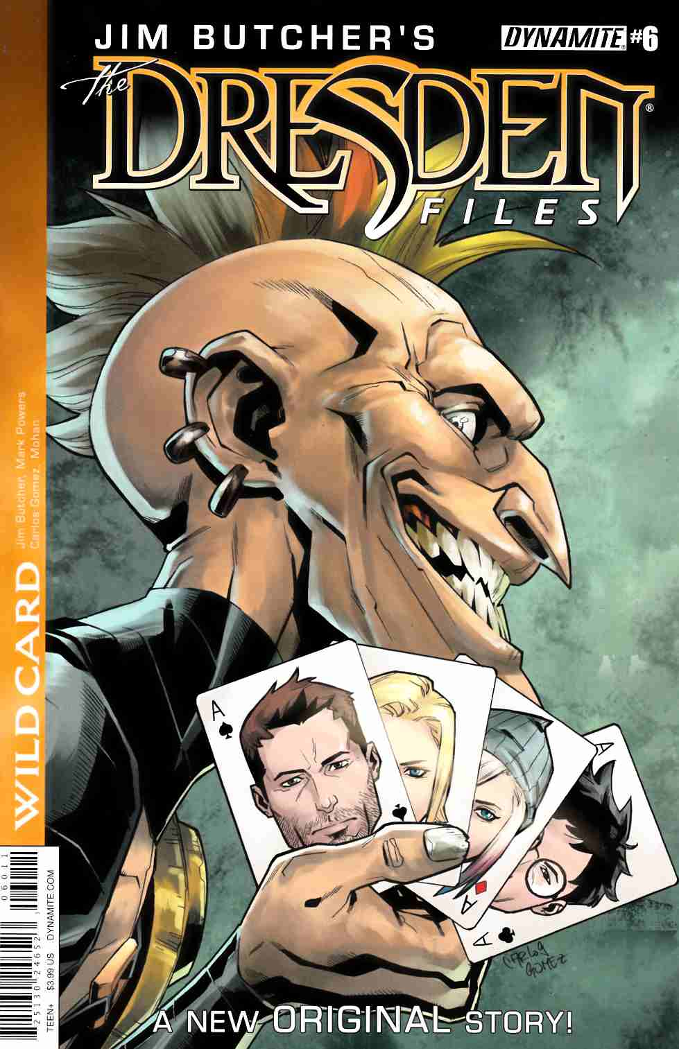 Jim Butcher Dresden Files Wild Card #6 [Dynamite Comic]