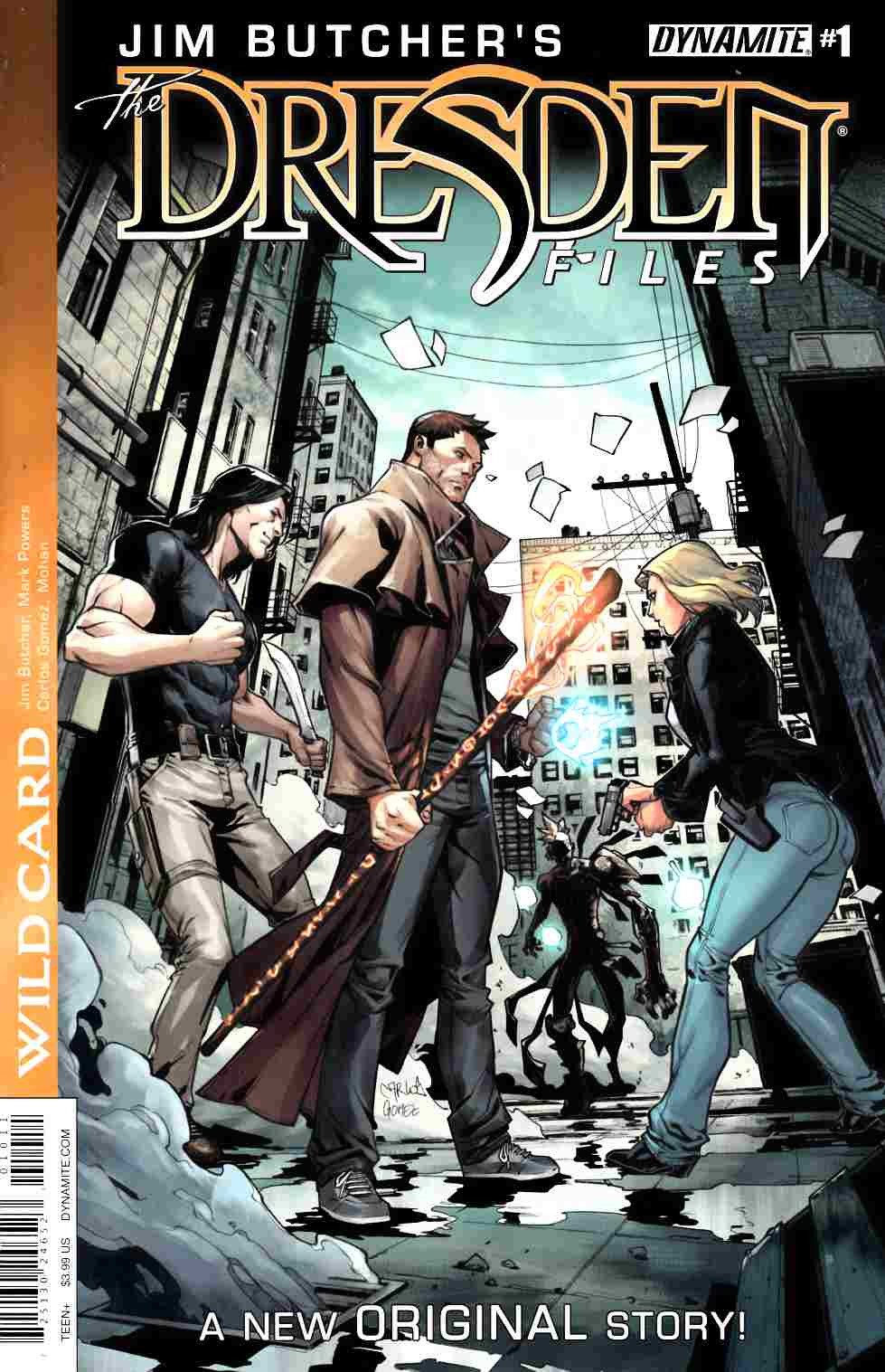 Jim Butcher Dresden Files Wild Card #1 [Dynamite Comic]