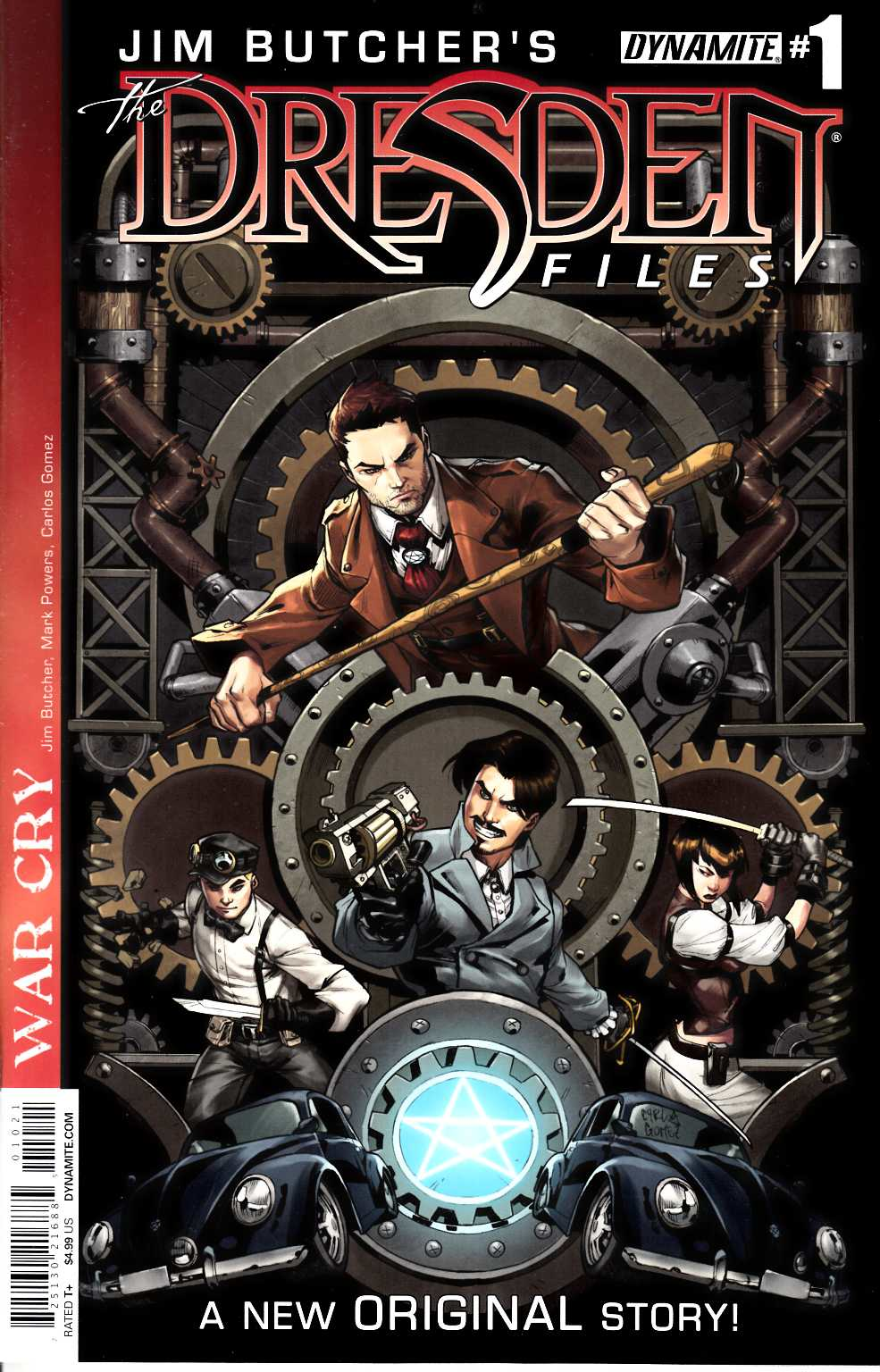 Jim Butcher Dresden Files War Cry #1 Steampunk Incentive Cover [Comic]_THUMBNAIL