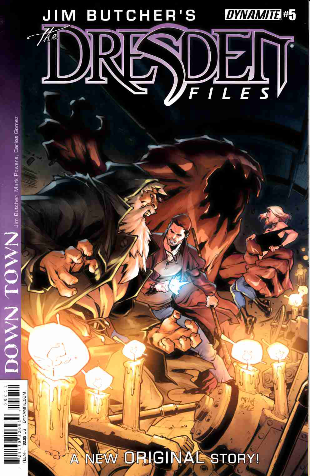 Jim Butcher Dresden Files Down Town #5 [Dynamite Comic] THUMBNAIL