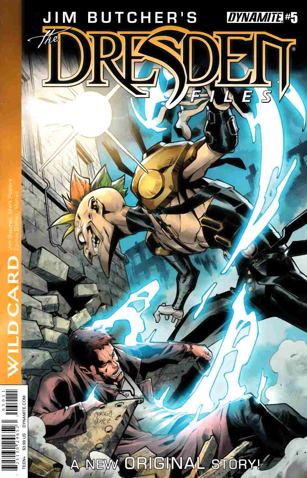 Jim Butcher Dresden Files Wild Card #5 [Dynamite Comic]