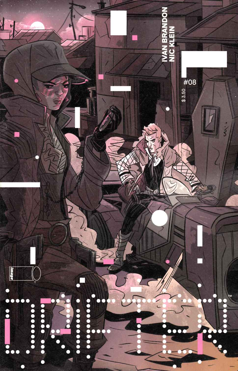 Drifter #8 Cover A- Klein [Image Comic] THUMBNAIL