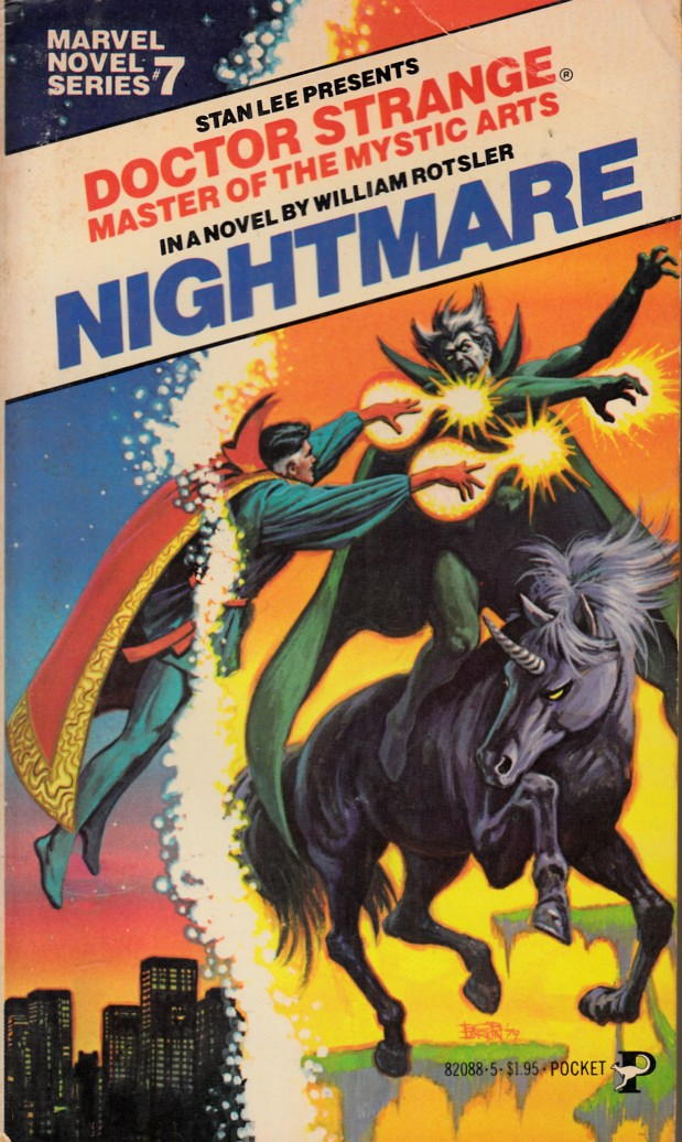 Doctor Strange Nightmare Novel PB Very Good (4.0) [Marvel Softcover] THUMBNAIL