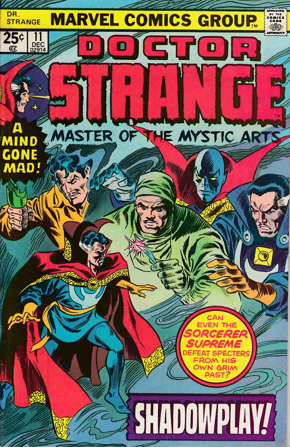Doctor Strange #11 Fine (6.0) [Marvel Comic] LARGE