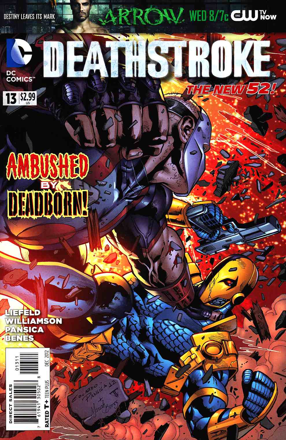Deathstroke #13 [DC Comic] LARGE