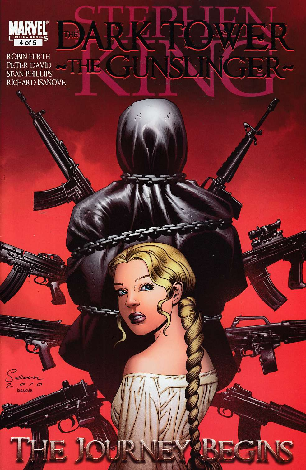 Dark Tower Gunslinger Journey Begins #4 Near Mint (9.4) [Marvel Comic] LARGE
