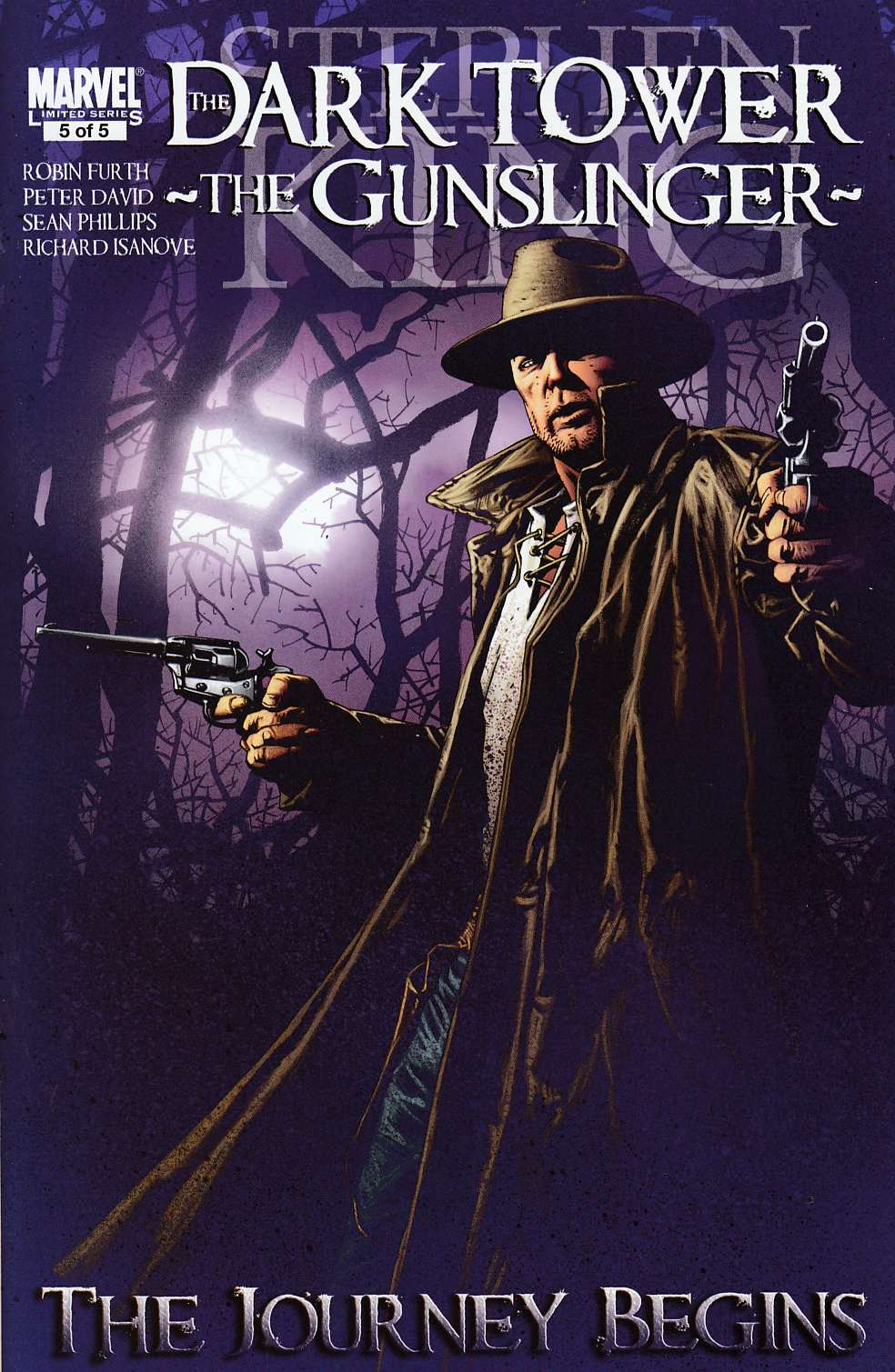 Dark Tower Gunslinger Journey Begins #5 Near Mint MInus (9.2) [Marvel Comic] LARGE