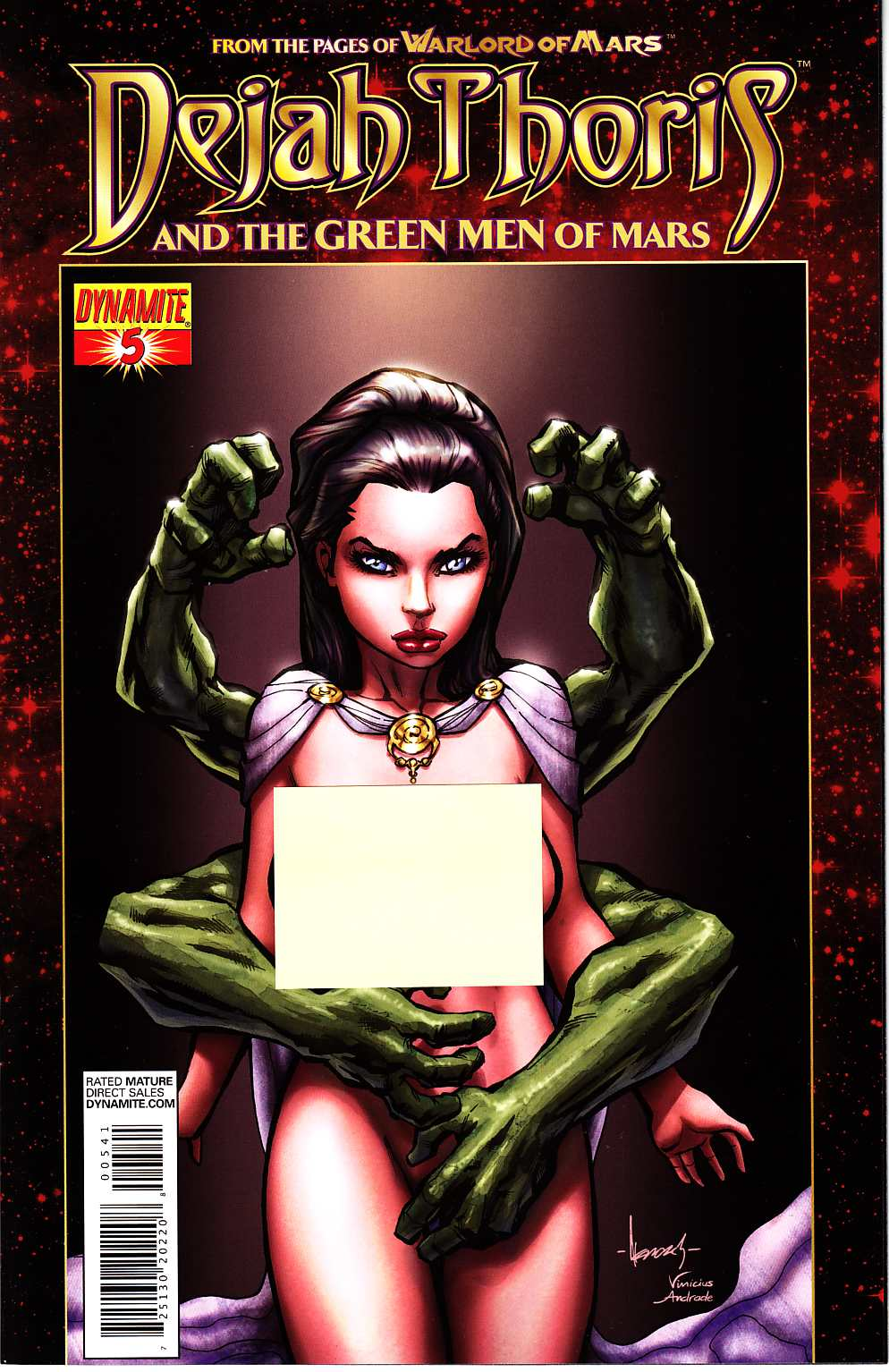 Dejah Thoris & Green Men Of Mars #5 Garza Risque Incentive Cover [Comic] THUMBNAIL