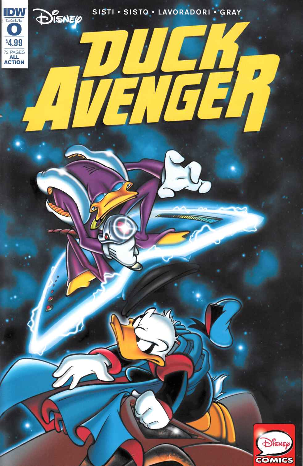Duck Avenger #0 [IDW Comic]