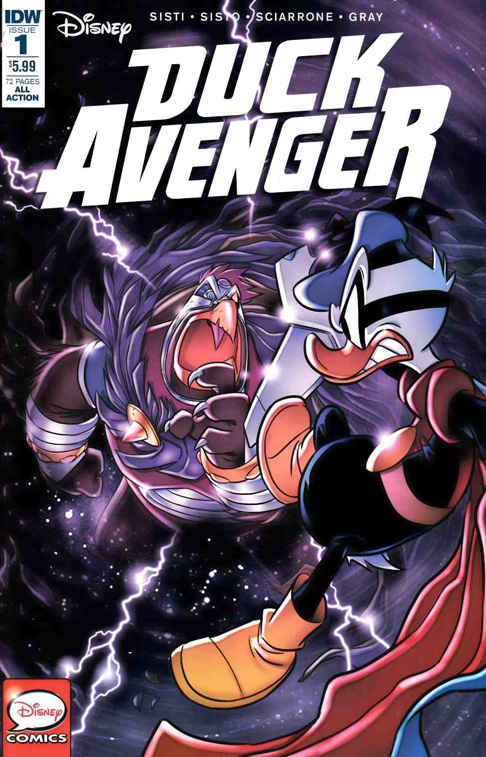 Duck Avenger #1 [IDW Comic]