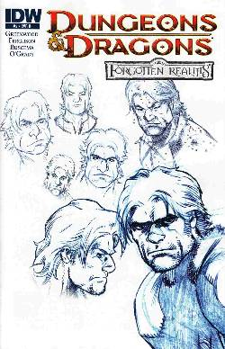 Dungeons & Dragons Forgotten Realms #2 Cover RI- Character Design [Comic]_LARGE