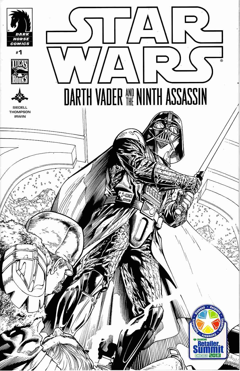 Star Wars Darth Vader & Ninth Assassin #1 RRP Summit Cover [Dark Horse Comic] THUMBNAIL