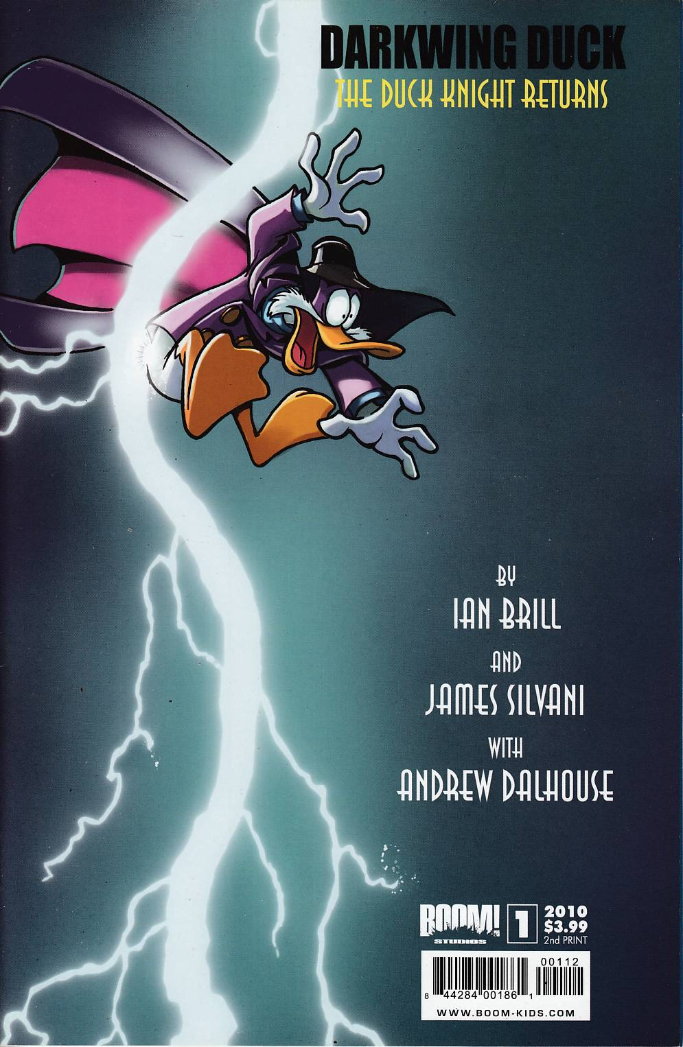 Darkwing Duck #1 SDCC Exclusive Variant Cover Very Fine Minus (7.5) [Boom Comic]_THUMBNAIL