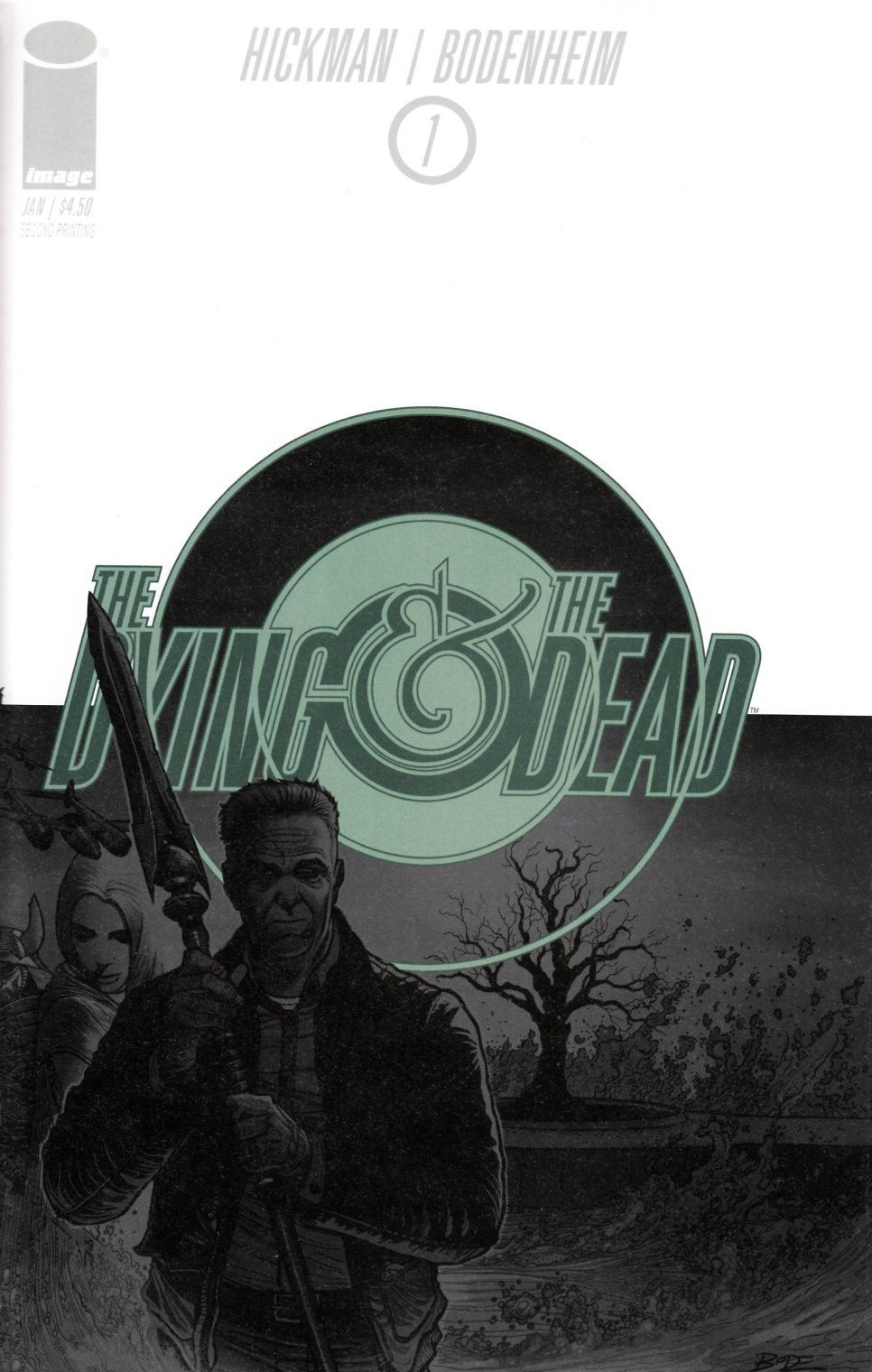 Dying and the Dead #1 Second Printing [Image Comic] LARGE