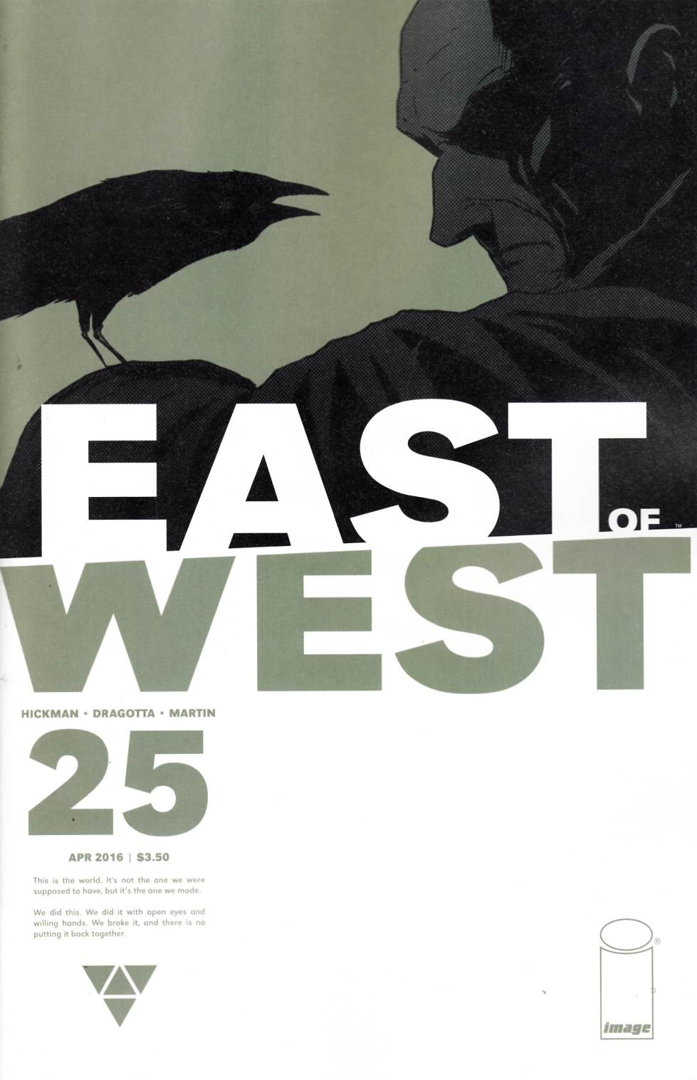 East of West #25 Cover A [Image Comic] THUMBNAIL