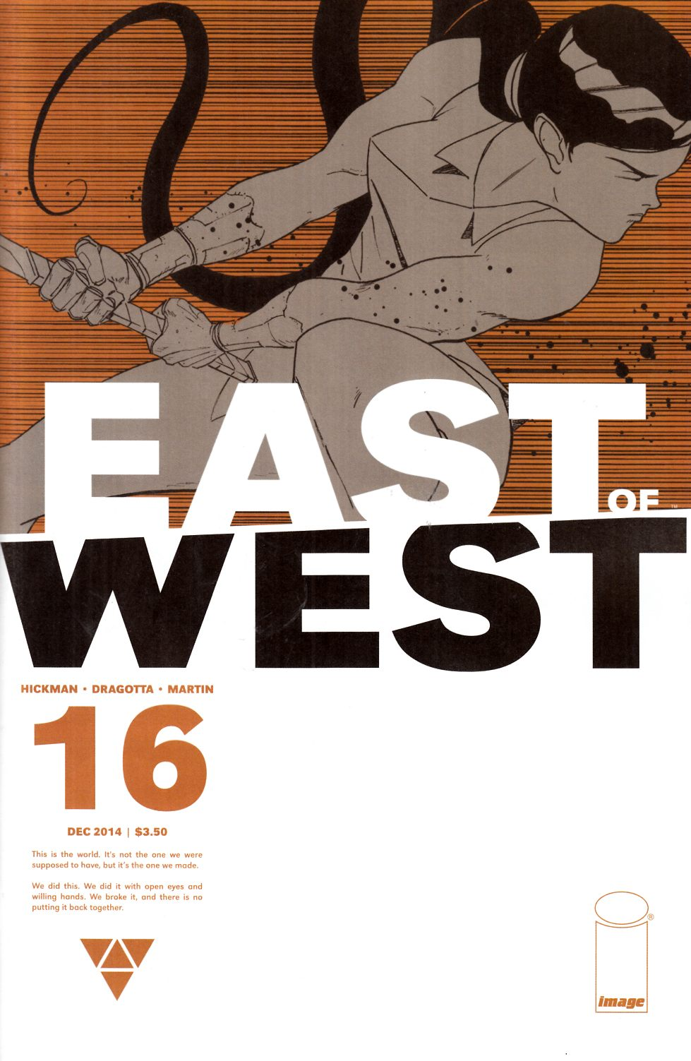 East of West #16 Cover A [Image Comic] THUMBNAIL
