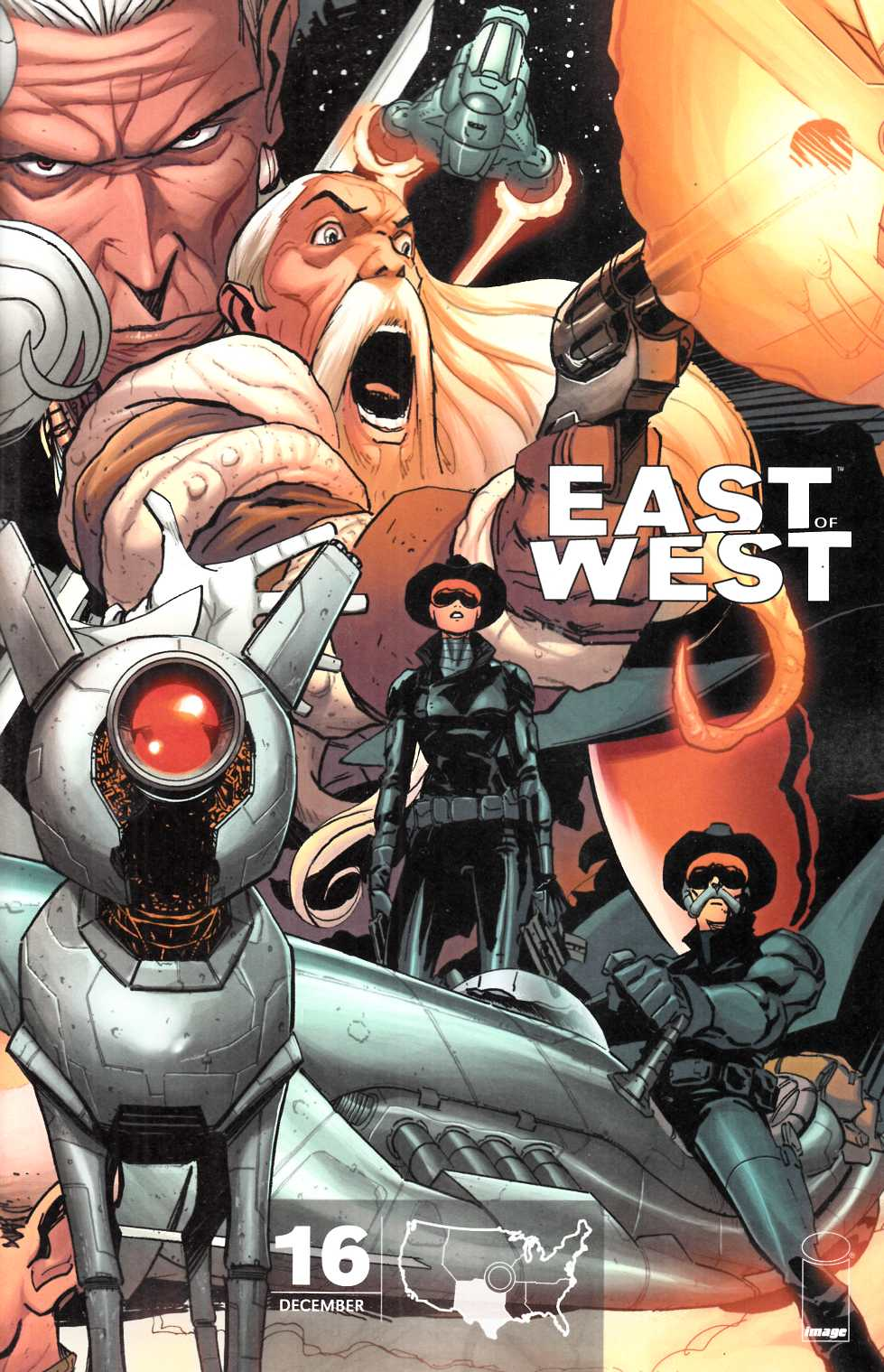 East of West #16 Cover C [Image Comic] THUMBNAIL