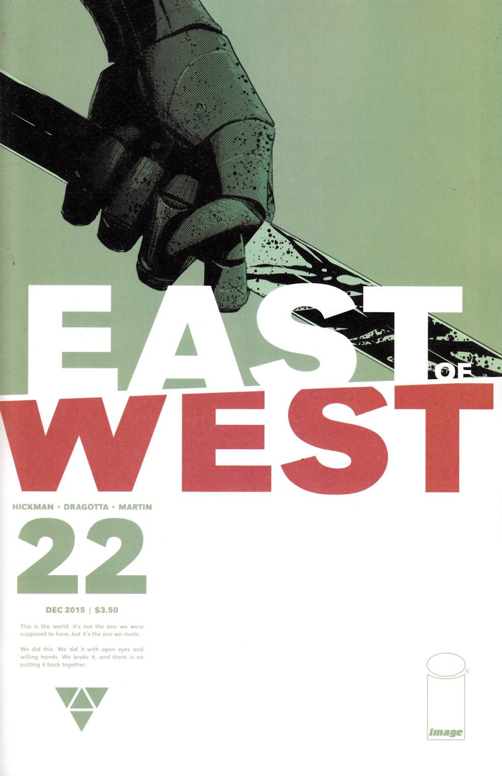 East of West #22 [Image Comic] THUMBNAIL